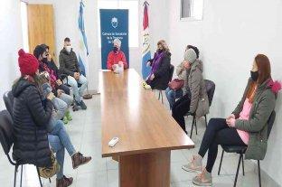 Baucero entregó aportes a gimnasios y academias de San Javier