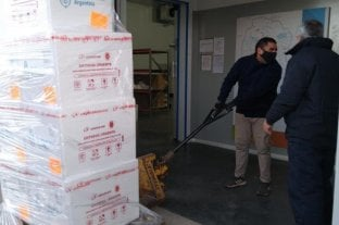 Córdoba recibe nueva partida de vacunas Sinopharm