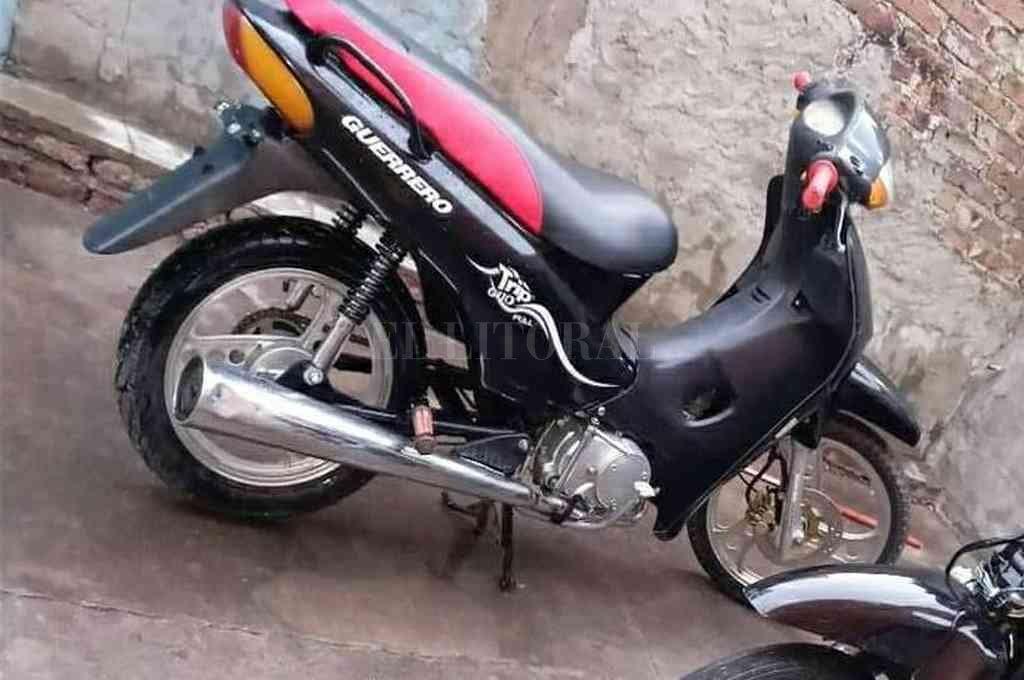 La moto fue hallada en un lavadero cuando estaba a punto de ser vendida. Crédito: El Litoral