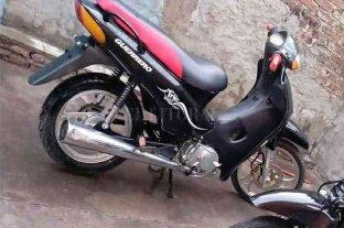 Recuperó su moto cuando la ofrecían a la venta por facebook - La moto fue hallada en un lavadero cuando estaba a punto de ser vendida.
