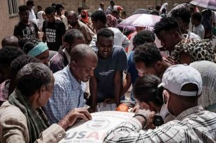 Un ataque aéreo dejó decenas de muertos en Etiopía