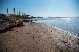 El río Paraná llegó a 0,13 metros en Rosario y seguiría bajando -