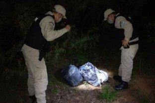 Corrientes: secuestraron más de 100 kilos marihuana descubiertos a orillas del río Paraná