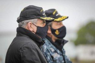 Agustín Rossi destacó el compromiso de las fuerzas armadas en pandemia -  -