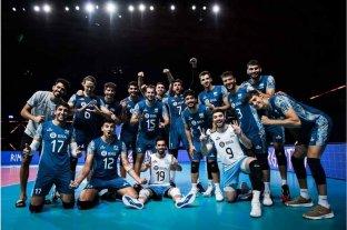 Con una gran actuación de De Cecco, Argentina venció a Irán por 3 a 1