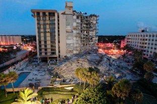 Una mujer fallecida y al menos nueve heridos tras el colapso del edificio en Miami