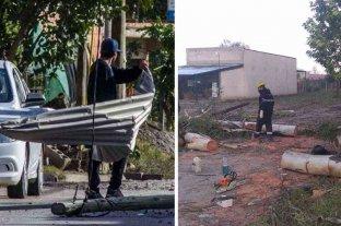 Viento zonda en Salta provocó destrozos y dejó varias localidades sin luz