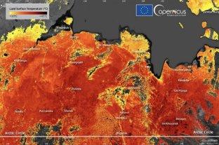 Siberia está a 48 grados, rompe récord de calor y preocupa a expertos