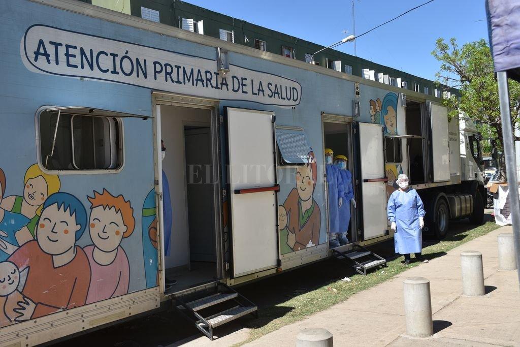 El camión sanitario del Ministerio de Salud de la Nación volverá a recorrer distintos puntos del departamento La Capital. Crédito: Flavio Raina