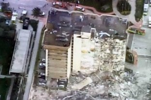 Video: así quedó el edificio que colapsó en Miami