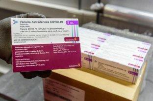 Córdoba recibió más de 100.000 dosis de vacunas AstraZeneca