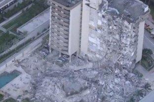 Un correntino estaba en el edificio que se derrumbó en Miami