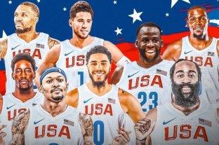 El ''super equipo'' de básquet que tendrá Estados Unidos en los JJOO