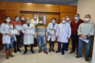 El Hospital Iturraspe reconoció la intensa labor de los trabajadores de la salud durante la pandemia