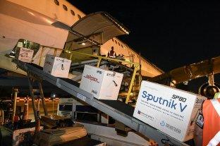 Anuncian que la semana próxima comienza a llegar al país el segundo componente de Sputnik V