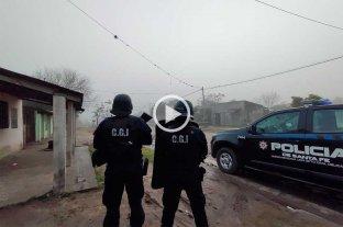 Múltiples allanamientos por usurpaciones en Reconquista