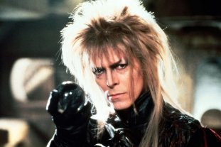 La película que juntó a los muñecos de Jim Henson con las canciones de Bowie