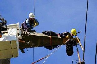 La EPE realizó trabajos con cables de 132.000 voltios sin afectar a usuarios en el Gran Santa Fe