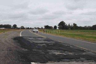 Peligro en la ruta: piden urgente reparación del tramo de la 90 entre Melincué y la 8