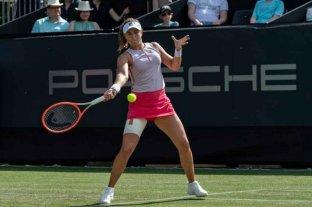 Podoroska posterga su debut en Wimbledon y Djokovic comienza con victoria