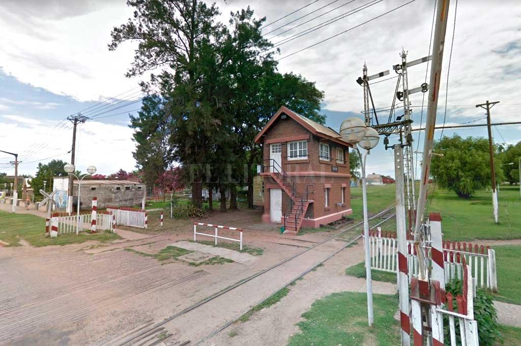 Laguna Paiva forma parte de la historia ferroviaria de la provincia y el país Crédito: Captura de Pantalla - Google Street View