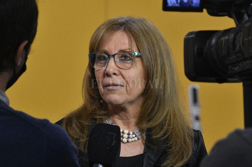 Claudia Giaccone. Crédito: Archivo El Litoral / Manuel Fabatía