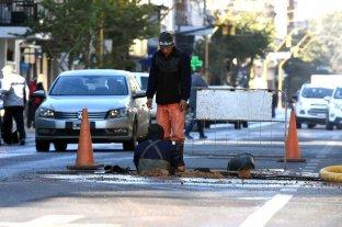 Por el frío, en solo 2 días se intervino  en 50 pérdidas de agua en la ciudad de Santa Fe