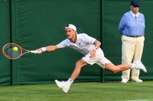 Schwarztmann se despidió de Wimbledon