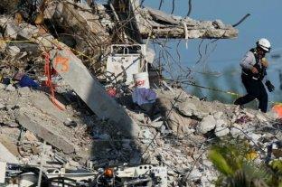 Ascienden a 60 los muertos por el derrumbe del edificio en Miami