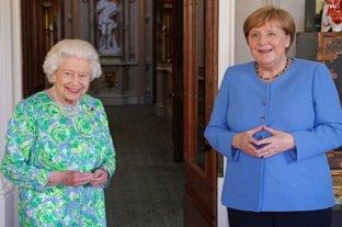 Isabel II despidió a Angela Merkel en el castillo de Windsor