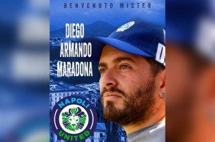 Diego Maradona Jr. tendrá su primera experiencia como DT