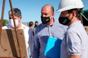 Calvo celebró la ejecución de obras del gobierno provincial en Ramona y Tacural