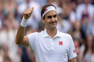 """Federer, el más """"longevo"""" en acceder a cuartos de final del Abierto inglés"""