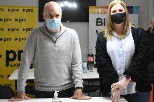 Horacio Rodríguez Larreta avaló la candidatura de Luciana Ceresola en la ciudad de Santa Fe