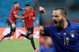 Italia y España por un lugar en la final