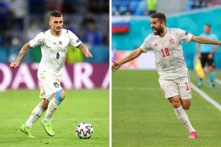Italia y España van por la final de la Eurocopa