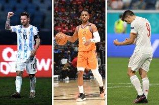 Horarios y TV: martes de Copa América, Eurocopa y NBA