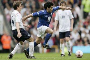 En 2006 Maradona dejaba otra vez de rodillas a Inglaterra