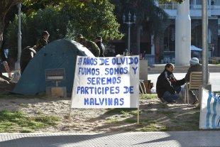 Malvinas: plantean reconocer a veteranos que cumplieron tareas en el continente