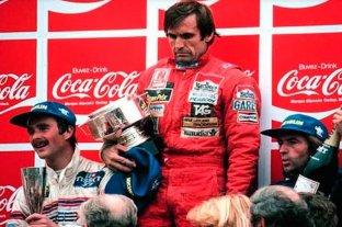 La vida de Reutemann en fotos: su faceta deportiva y política