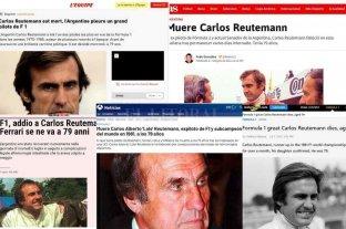 Diarios internacionales recordaron a Carlos Reutemann y su paso por la Fórmula 1