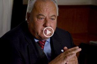 """Rafael Gutiérrez: """"Vengo a despedir a un amigo"""""""
