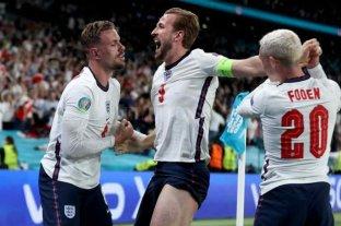 Inglaterra derrotó a Dinamarca en el alargue y está en la final