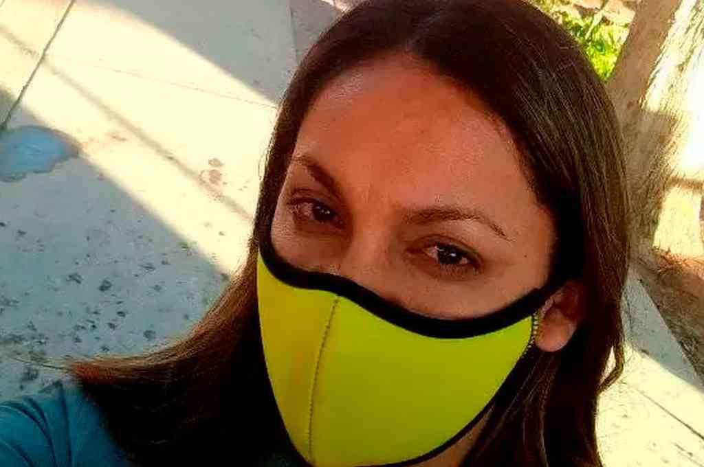 Paola Fabiana Tejada, la portera sanjuanina, está acusada de abusar de un menor de edad. Crédito: Imagen ilustrativa