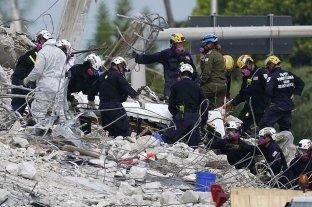 Se elevó a 64 la cifra de muertos por el derrumbe en Miami