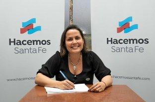 Jorgelina Mudallel encabezará la lista de Hacemos Santa Fe