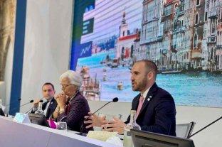 Guzmán se expresó contra la desigualdad en el Foro Global de Productividad