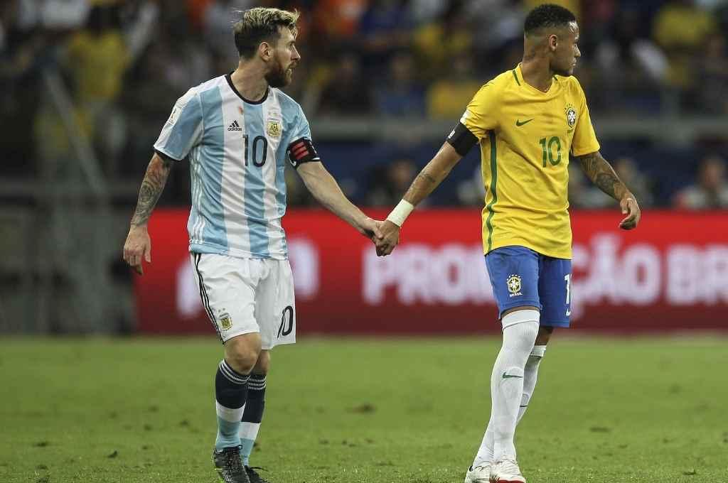 Lionel Messi y Neymar, los dos