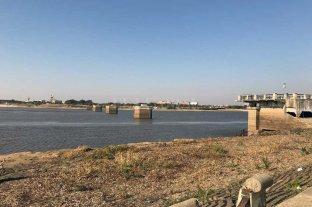 El Río Paraná llegaría en 10 días a los 10 cm en Santa Fe