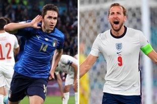Eurocopa: Inglaterra e Italia irán por la corona